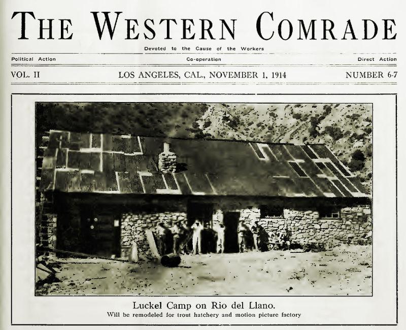 CHL No. 933 Llano Del Rio - Old Photo