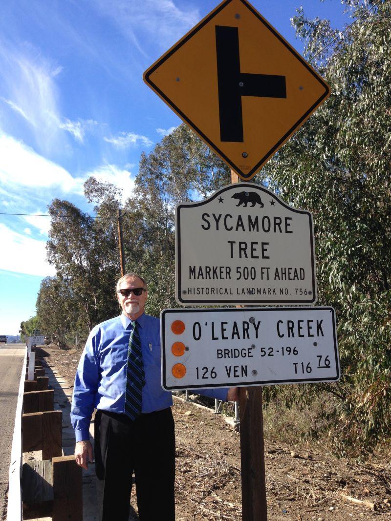 NO. 756 SYCAMORE TREE - Street Sign