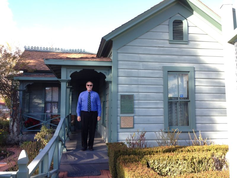 NO. 160 PLUMMER PARK AND OLDEST HOUSE IN HOLLYWOOD -