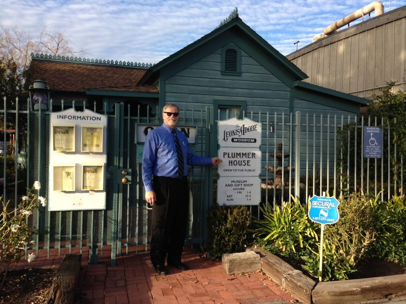 NO. 160 PLUMMER PARK AND OLDEST HOUSE IN HOLLYWOOD