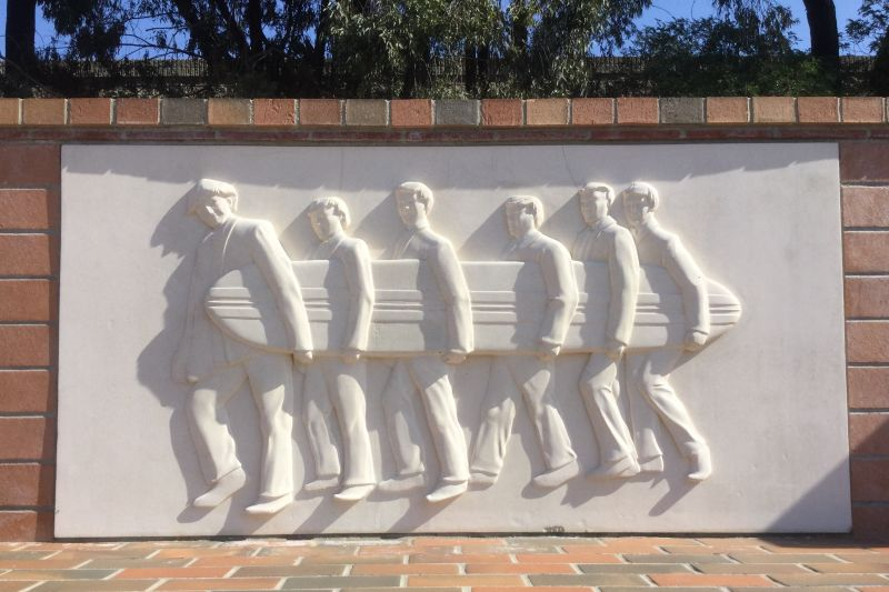 CHL No. 1041 Beach Boys Historic Landmark - Relief