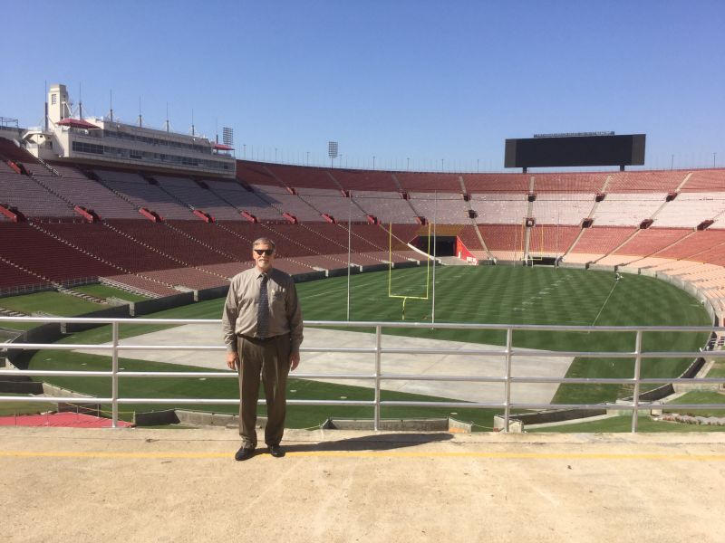 NO. 960 LOS ANGELES MEMORIAL COLISEUM - The Field