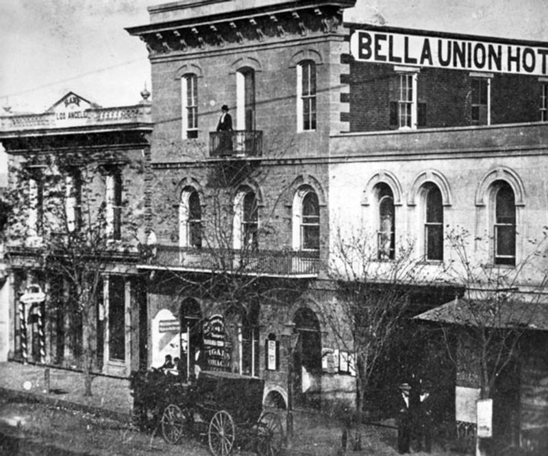 NO. 656 BELLA UNION HOTEL SITE - Old Photo