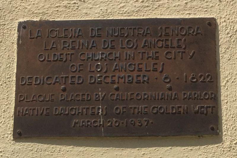 NO. 144 NUESTRA SEÑORA LA REINA DE LOS ANGELES - Private Plaque