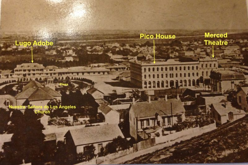 NO. 159 PICO HOUSE (HOTEL) - Old Photo
