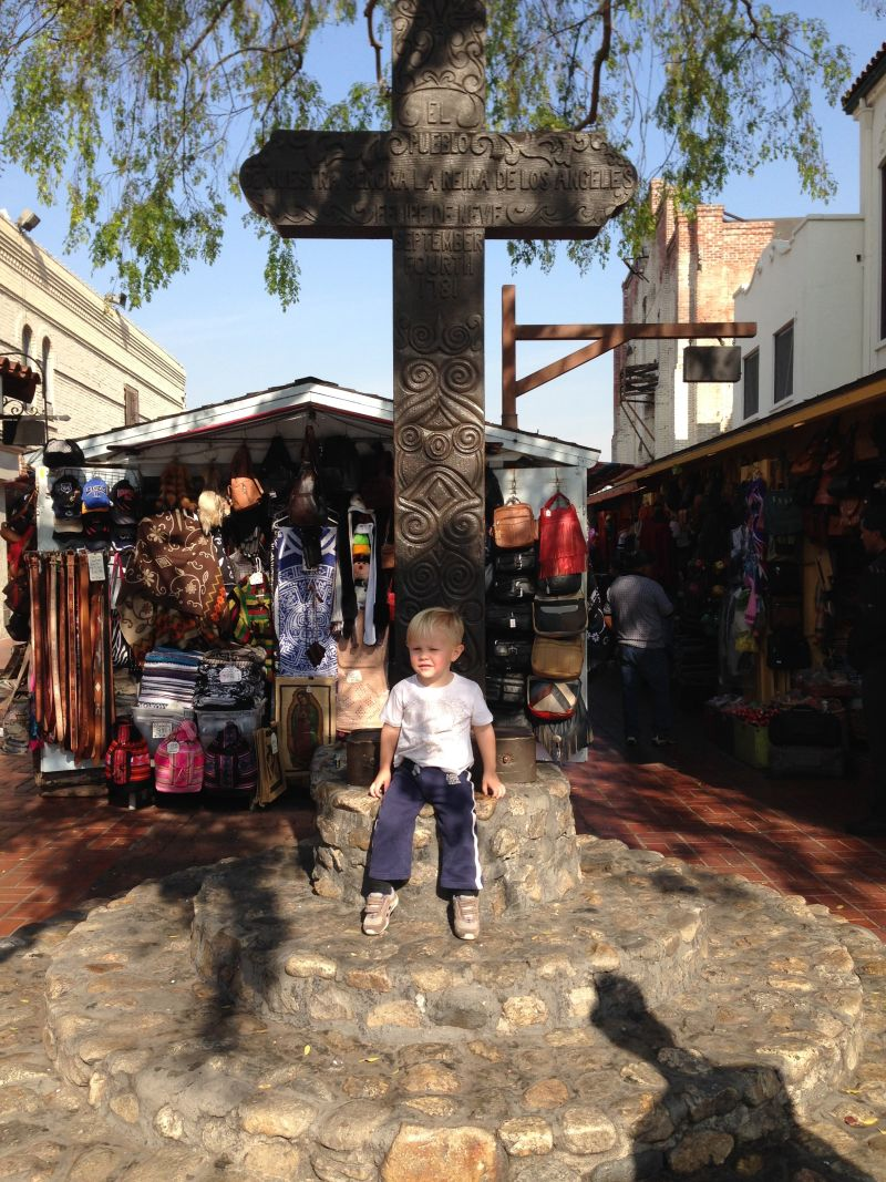 NO. 156 LOS ANGELES PLAZA - Olvera Street