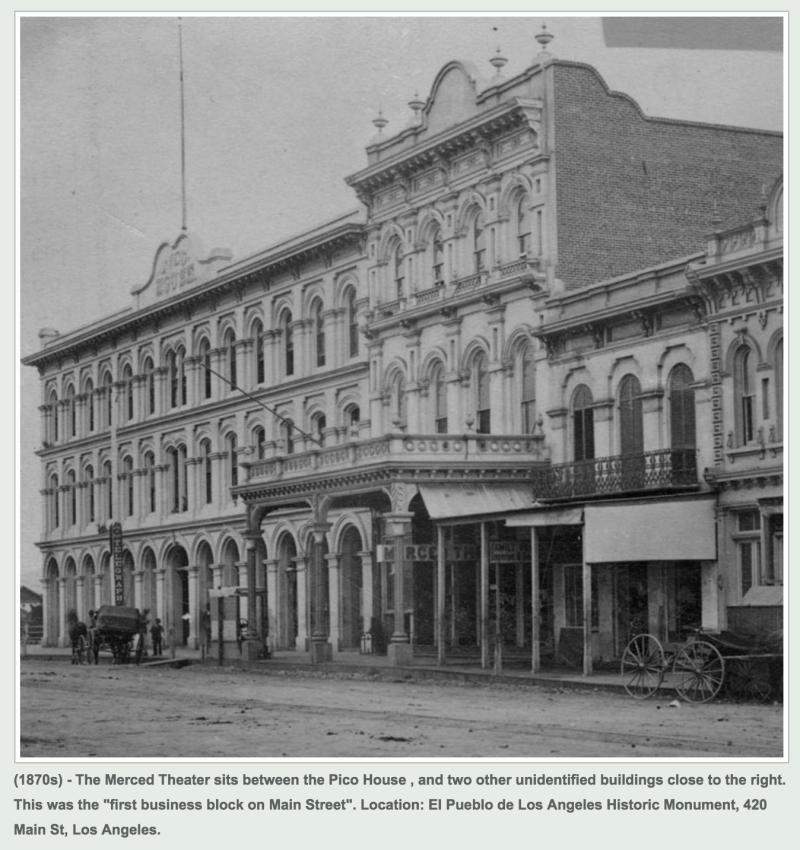 NO. 171 MERCED THEATRE - 1870