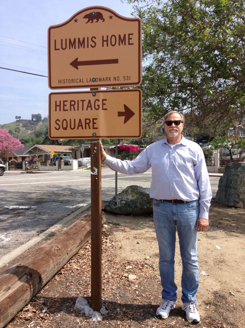 NO. 531 LUMMIS HOME - State Street Sign
