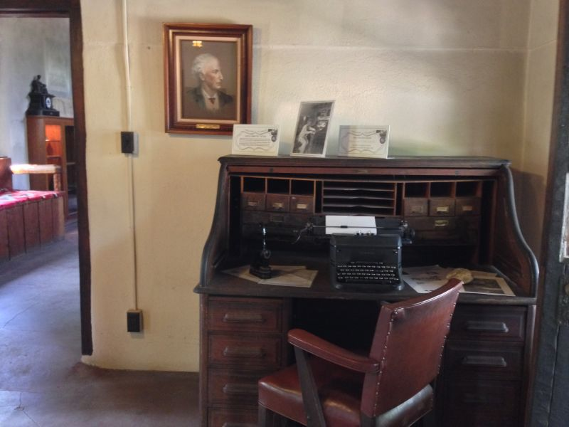 NO. 531 LUMMIS HOME - Lummis' Desk