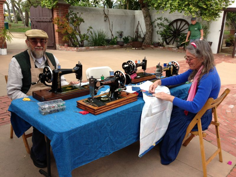 NO. 362 RÓMULO PICO ADOBE - Living History: Sewing