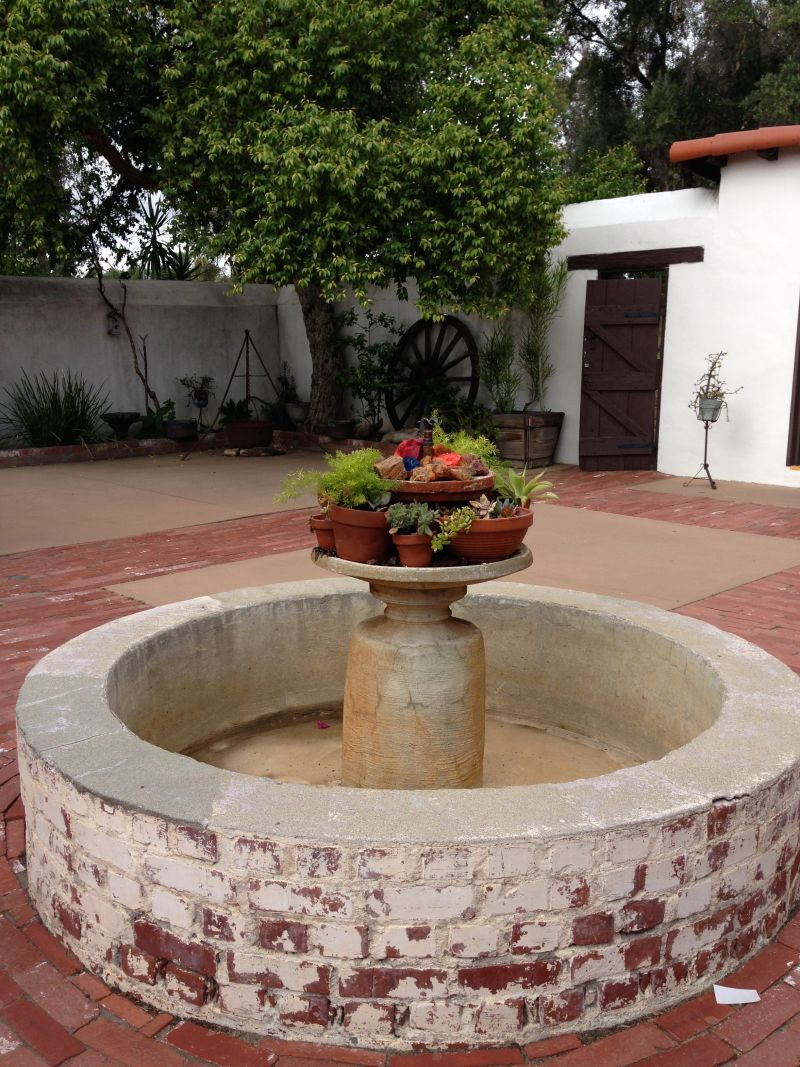 NO. 362 RÓMULO PICO ADOBE - Courtyard