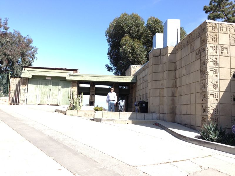 NO. 1011 FRANK LLOYD WRIGHT TEXTILE BLOCK HOUSE (THEMATIC), FREEMAN HOUSE -