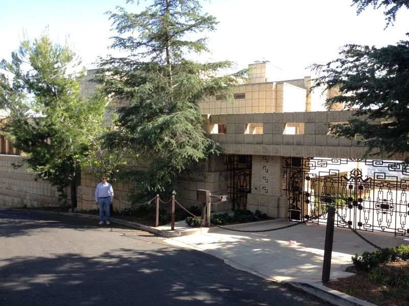 NO. 1011 FRANK LLOYD WRIGHT TEXTILE BLOCK HOUSES (THEMATIC), ENNIS HOUSE -