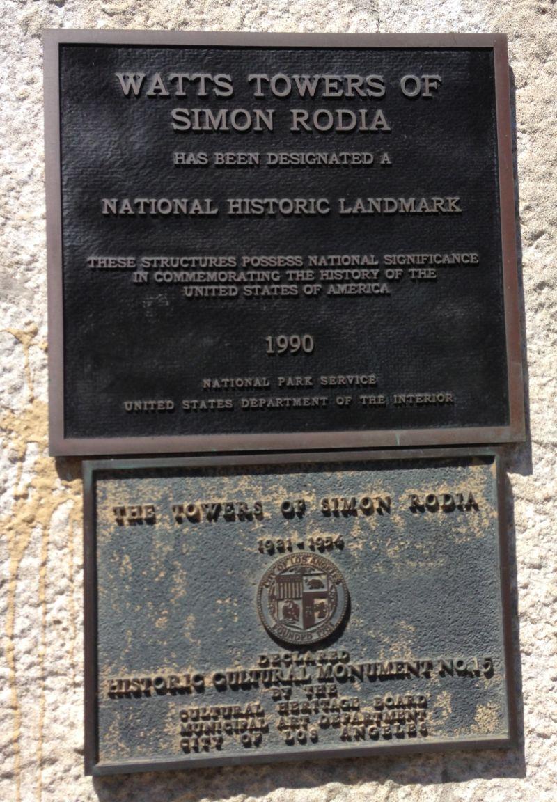 National Plaque