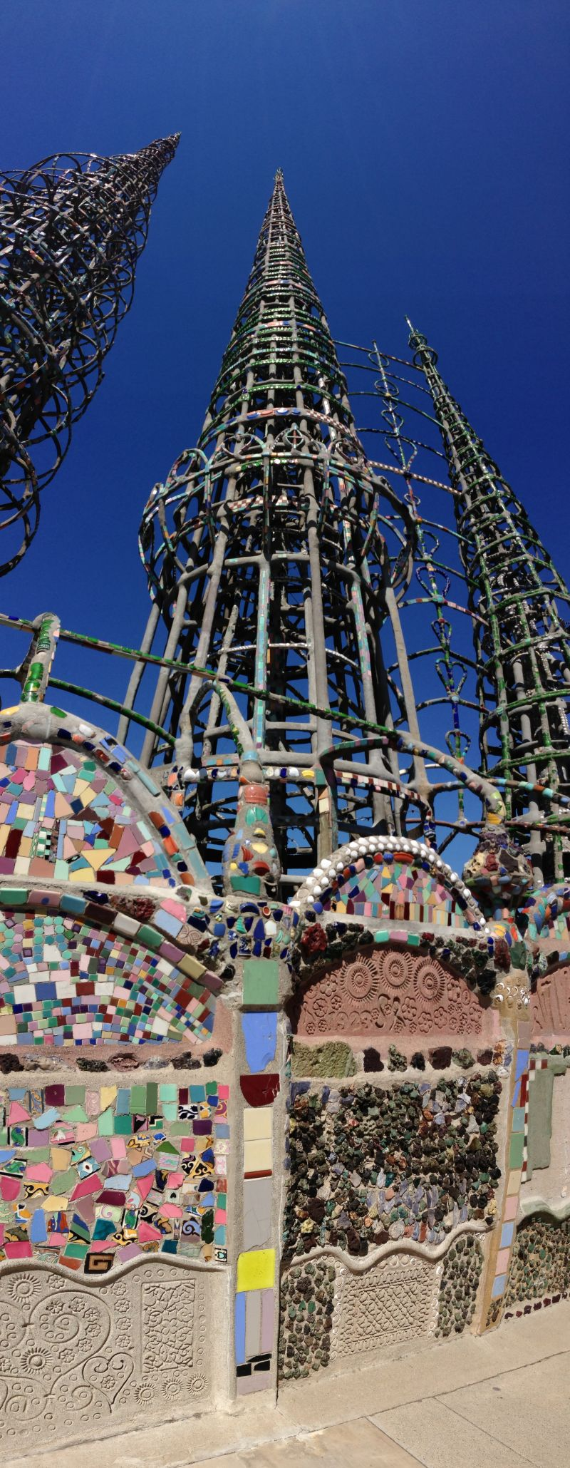 NO. 993 WATTS TOWERS OF SIMON RODIA
