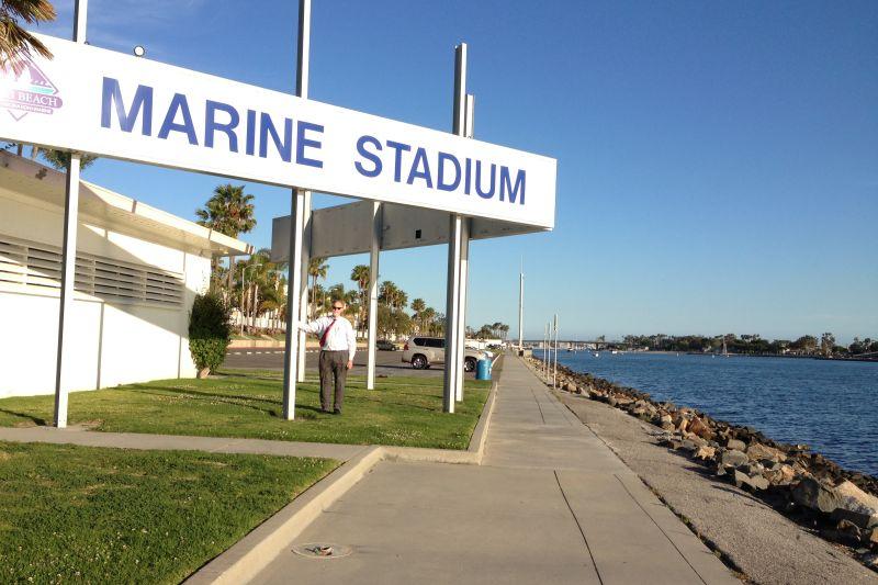 NO. 1014 LONG BEACH MARINE STADIUM