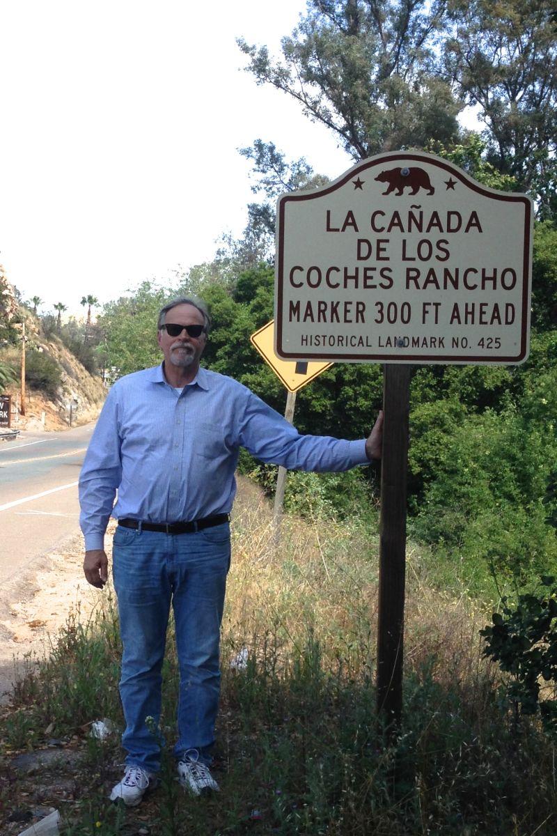 NO. 425 LA CAÑADA DE LOS COCHES RANCHO - Street Sign