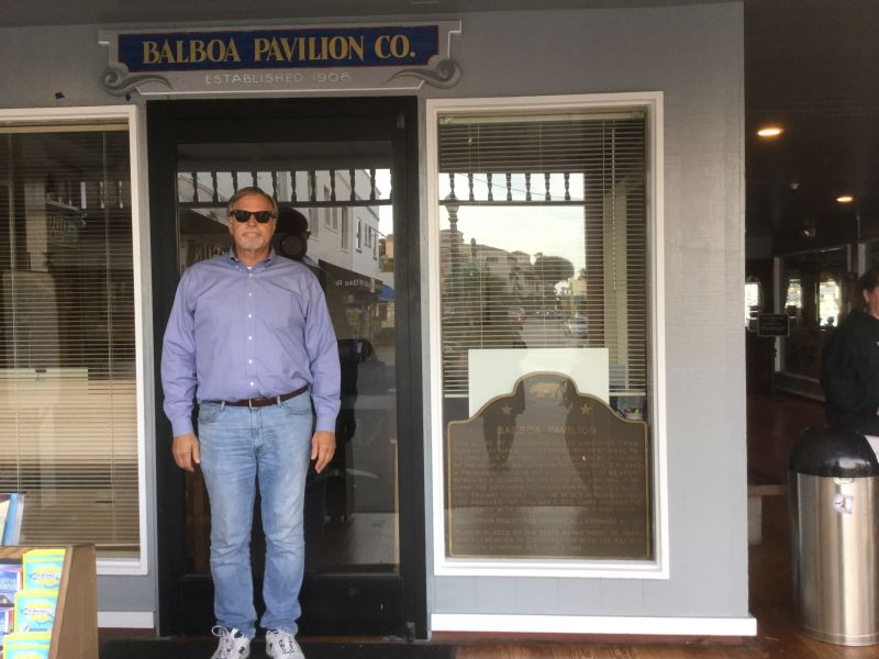 NO. 959 BALBOA PAVILION - State Plaque in Front Window