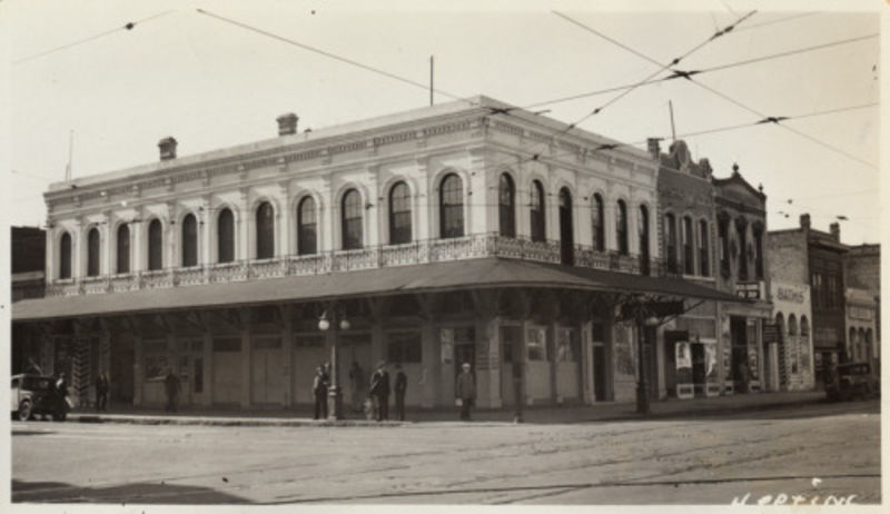 CHL No. 610  Overton Building - Old Photo