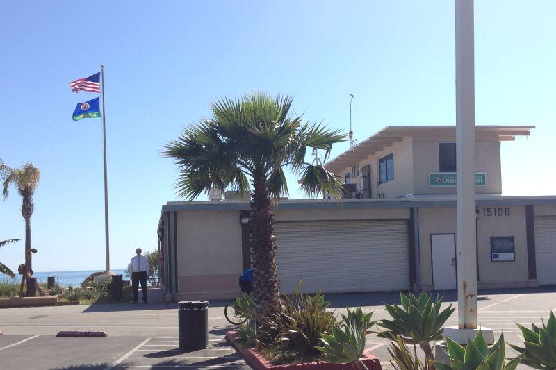 CHL No. 881 Port of Los Angeles Long Wharf - Lifeguard Headquarters