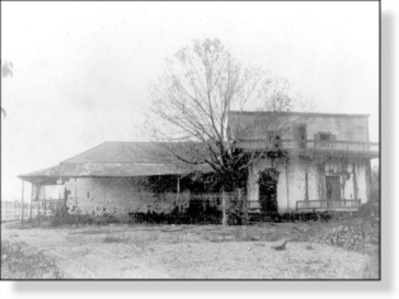 NO. 127 CASA DE GOVERNOR PÍO PICO - 1880's Pico Casa