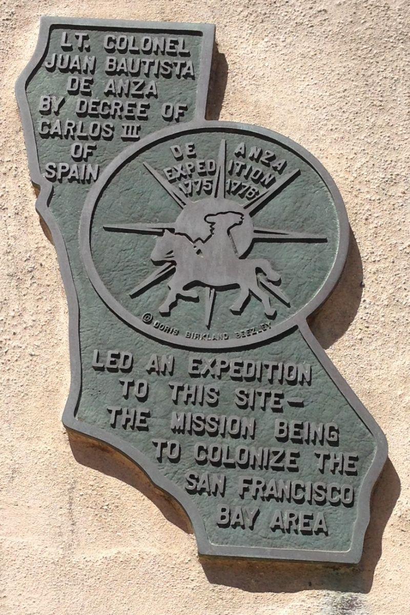 CHL #158 Mission San Gabriel Arcángel - End of De Anza trail