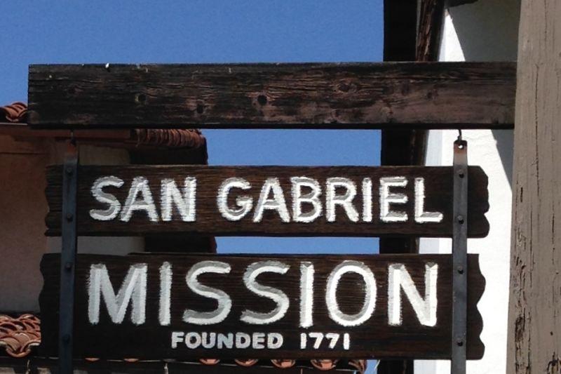 CHL #158 Mission San Gabriel Arcángel