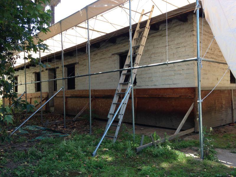 NO. 368 REID-BALDWIN ADOBE - Undergoing renovations