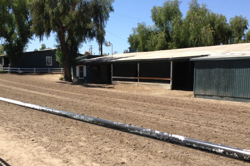 NO. 934  SANTA ANITA ASSEMBLY CENTER - Horse Stalls