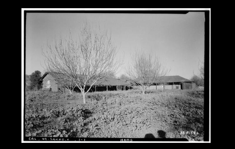NO. 721 CARRILLO ADOBE - 1936