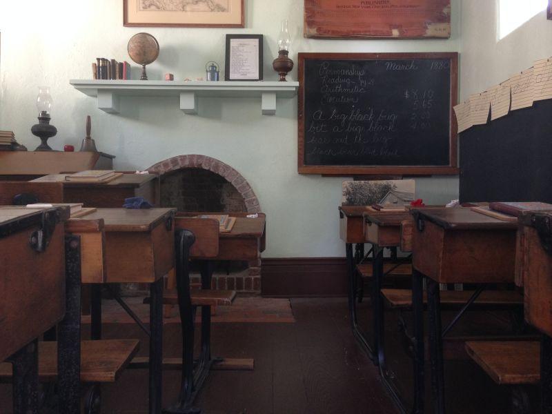 NO. 147 BANNING PARK - School room