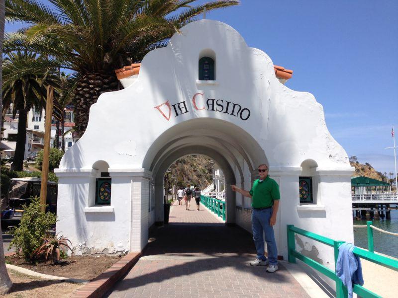 NO. 997 TUNA CLUB OF AVALON - Go through the arch to get to the Tuna Club.