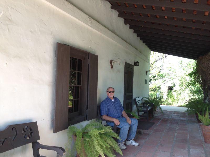 NO. 199 THE SERRANO ADOBE -  Front patio