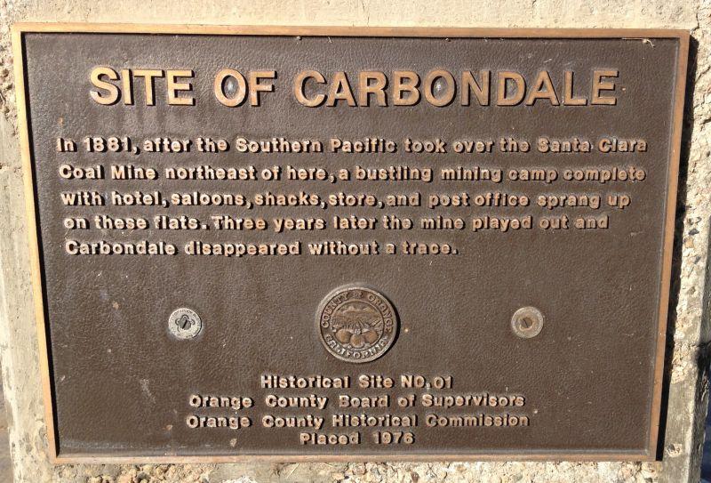 NO. 228 CARBONDALE - Private Plaque