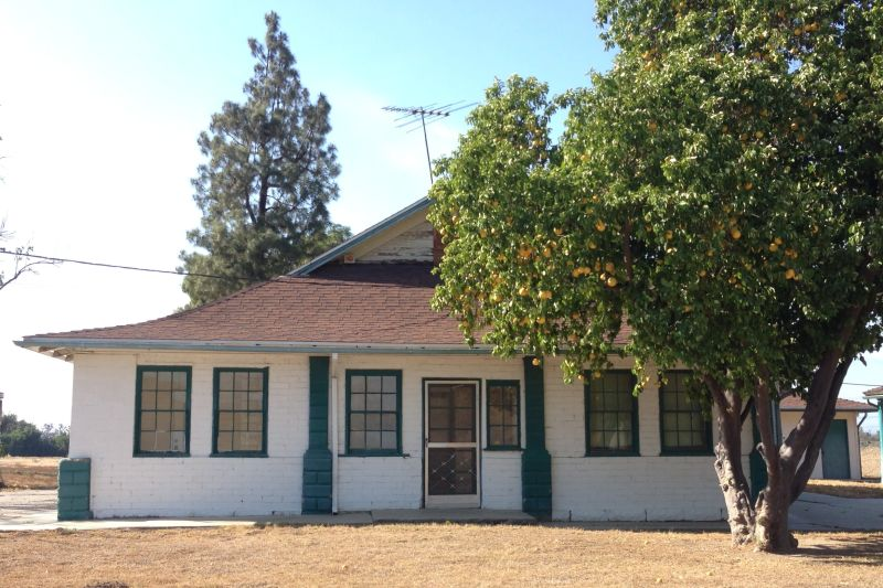 NO. 191 YORBA-SLAUGHTER ADOBE - The Block House