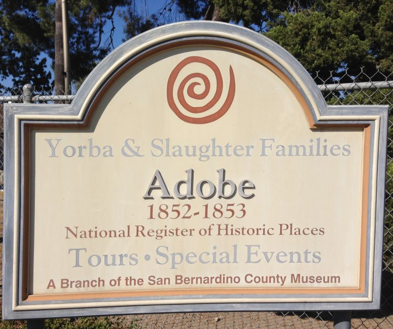 NO. 191 YORBA-SLAUGHTER ADOBE