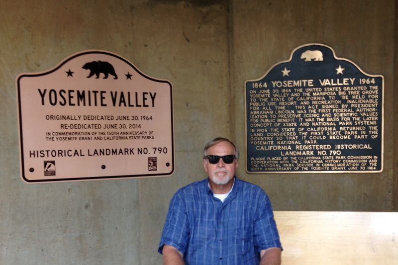 NO. 790 YOSEMITE VALLEY - Landmarks Signs