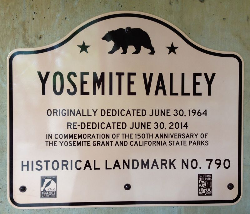 NO. 790 YOSEMITE VALLEY - Road Sign