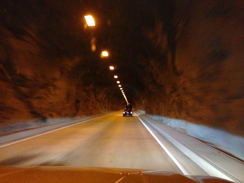 NO. 790 YOSEMITE VALLEY -  The Wawona Tunnel