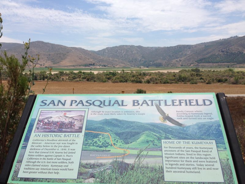 NO. 533 SAN PASQUAL BATTLEFIELD STATE HISTORIC PARK - Museum