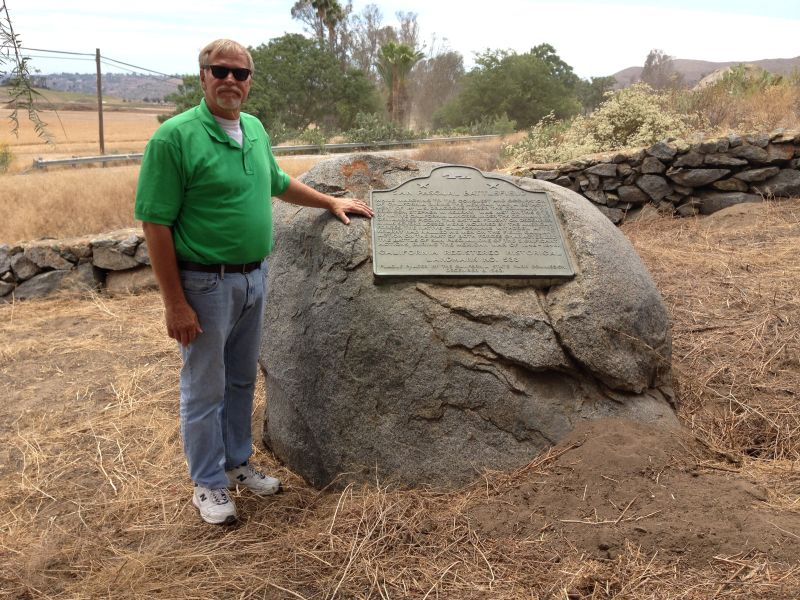 NO. 533 SAN PASQUAL BATTLEFIELD STATE PARK -State Plaque