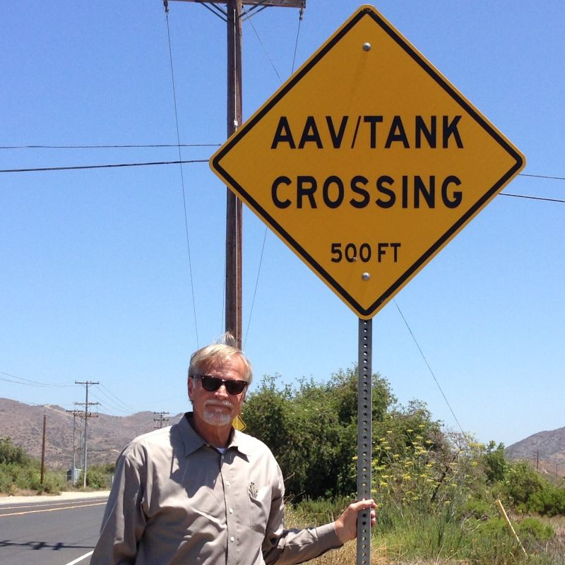 Camp Pendleton Tank Crossing