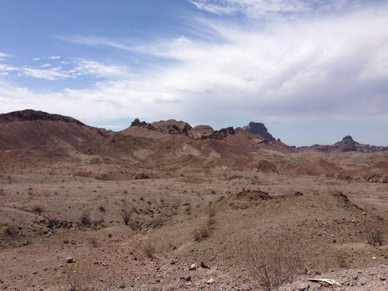 NO. 193 PICACHO MINES - Road to Picacho