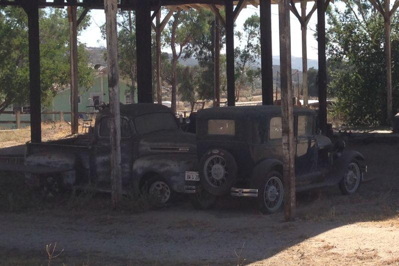 #1045 CAMP LOCKETT -  Old Automobiles