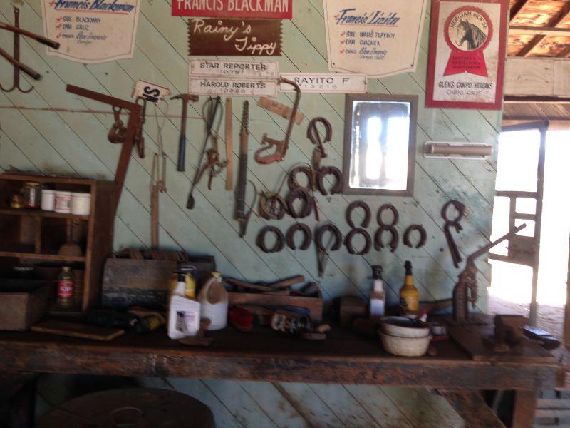 #1045 CAMP LOCKETT - 11th Cavalry Stables Interior