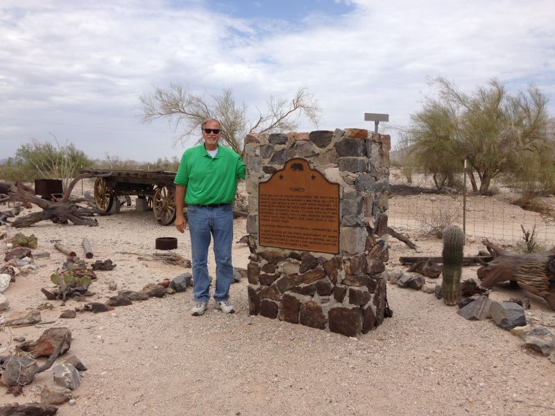 NO. 182 TUMCO MINES - Marker located in Gold Rock Ranch RV Park
