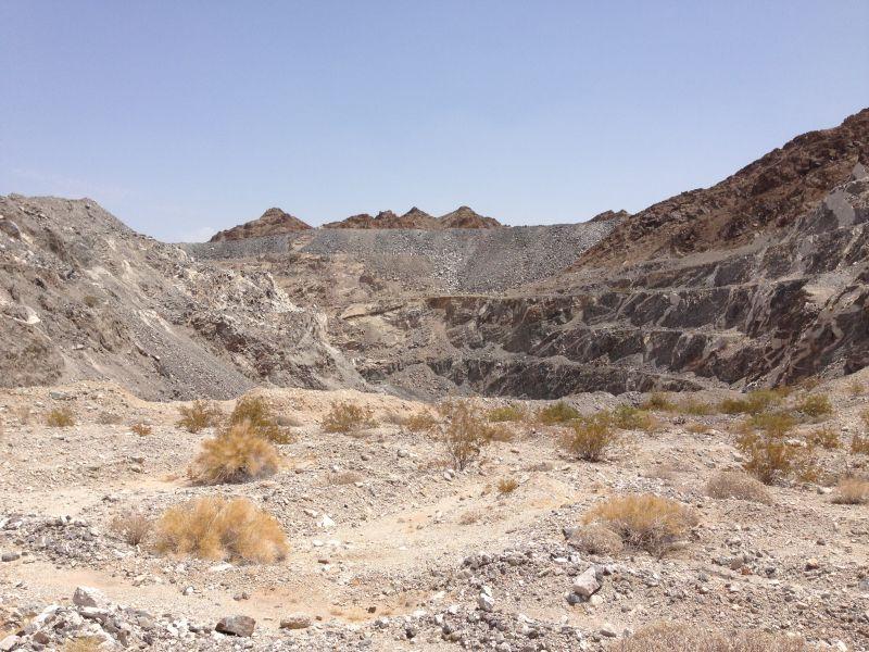 NO. 182 TUMCO MINES - Remains of Tumco Mine