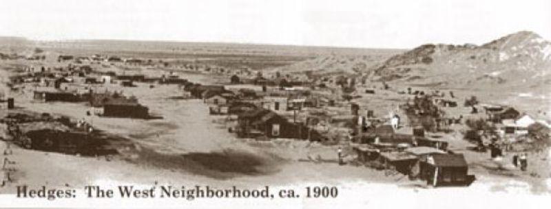 NO. 182 TUMCO MINES -  Tumco Townsite 1900
