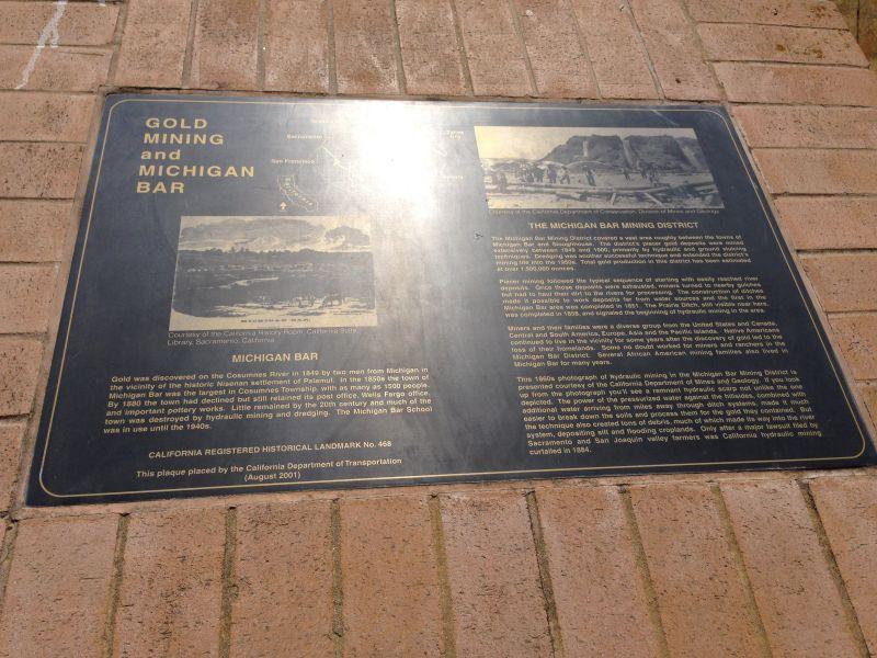 NO. 468 MICHIGAN BAR - Private Plaque