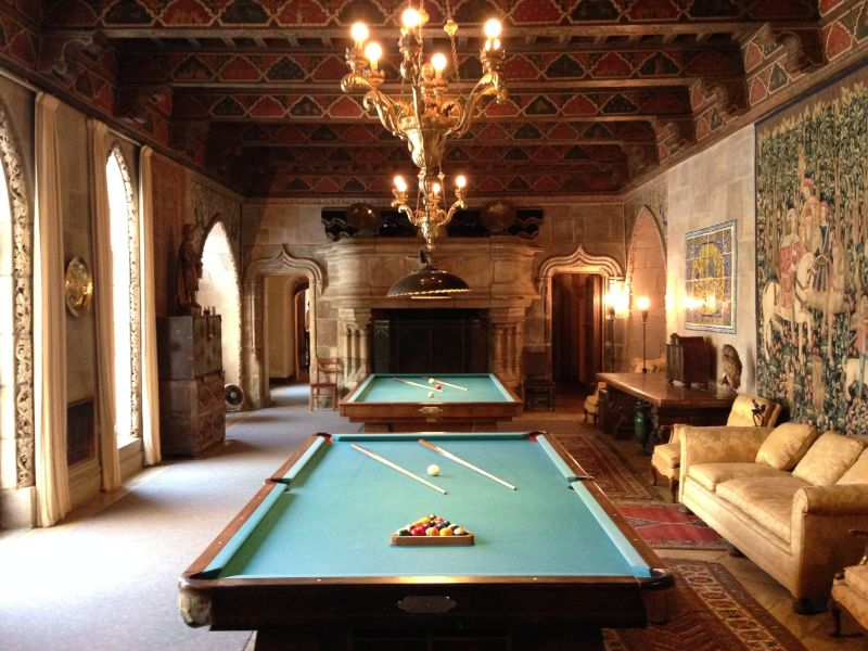 NO. 640  HEARST SAN SIMEON - Billiard Room